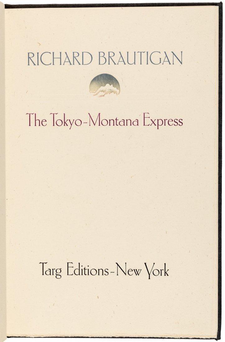 Richard Brautigan Tokyo-Montana Express 1/350
