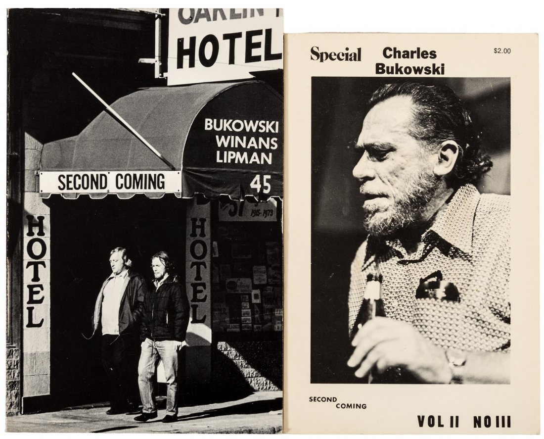 Two issues of Second Coming with Bukowski