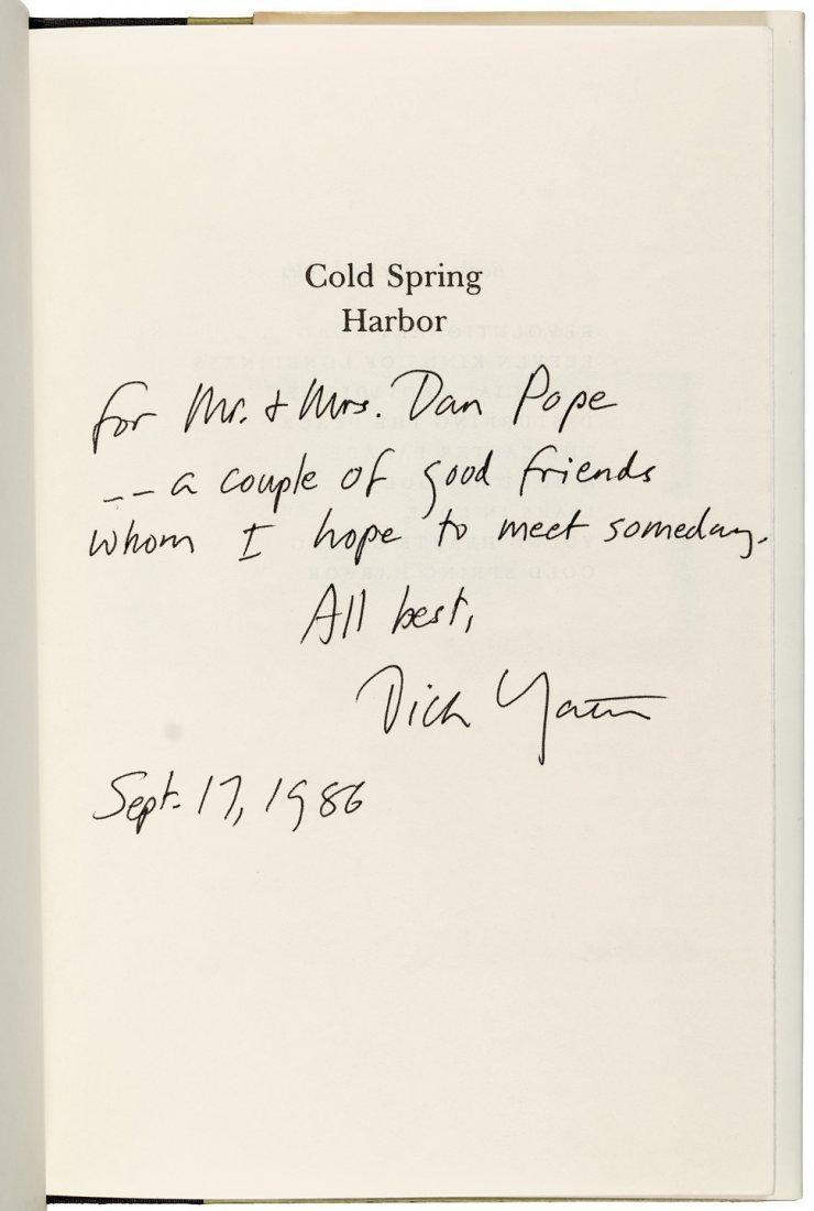 Richard Yates Cold Spring Harbor signed by Yates & - 2