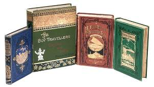 Four South Seas novels in decorative trade bindings