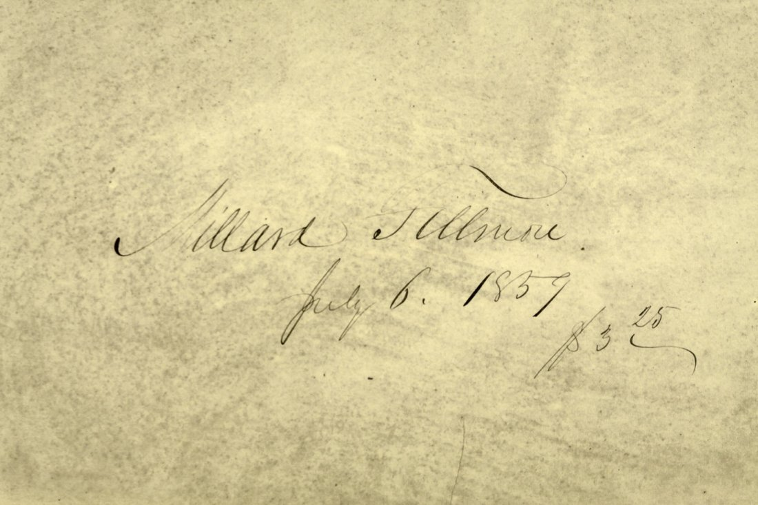 Volume from the Library of Millard Fillmore