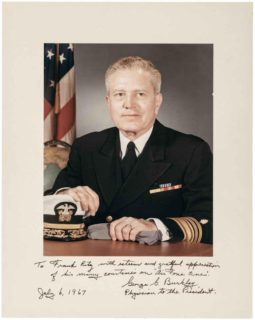 G.G. Burkley physician to the President