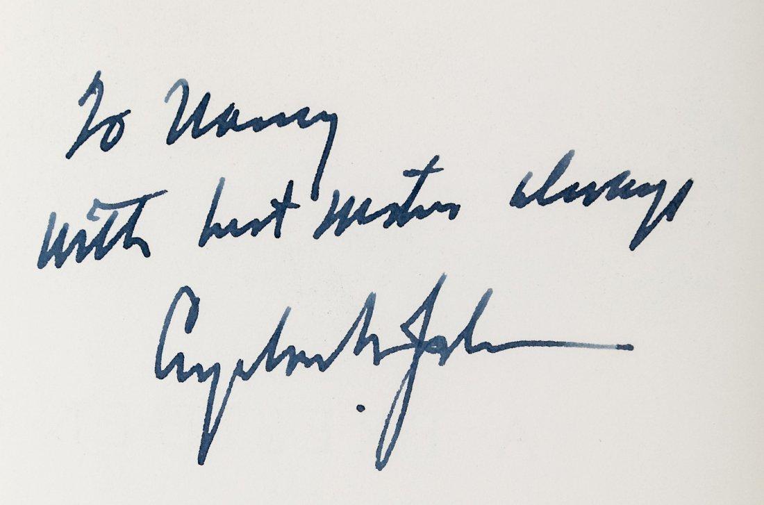 LBJ signed book