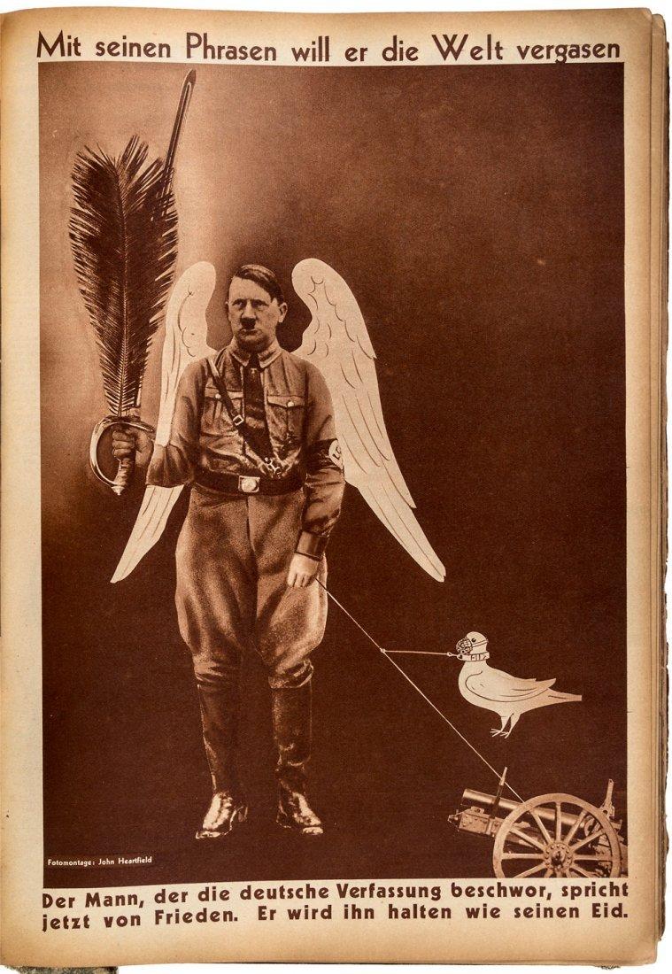Rare anti-facist German Periodical AIZ Pictorial