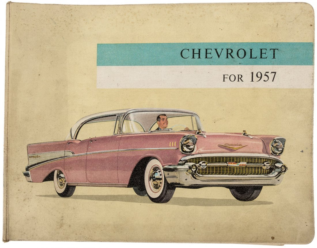 Trade catalog for the 1957 Chevrolet