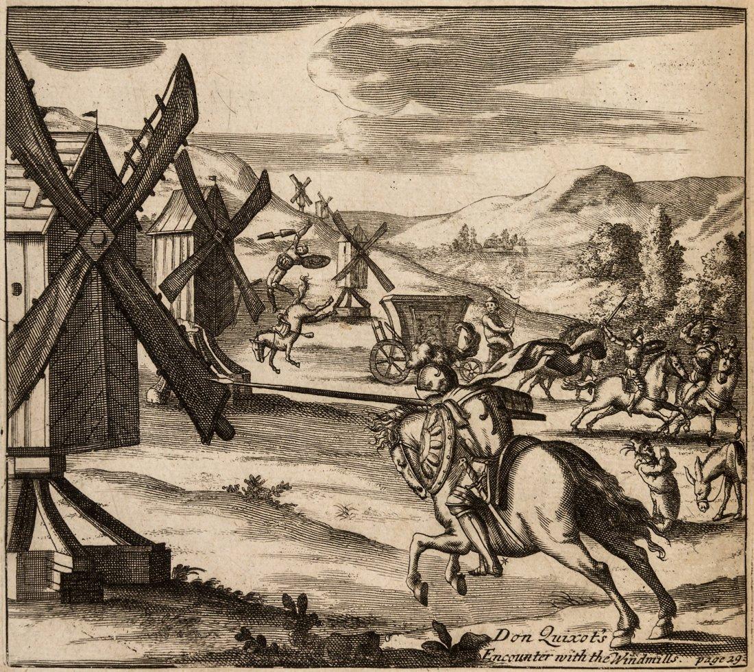 Illustrated edition of Don Quixote 1687