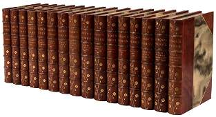 16 volumes Works of Lord Byron, 1/1000 copies finely