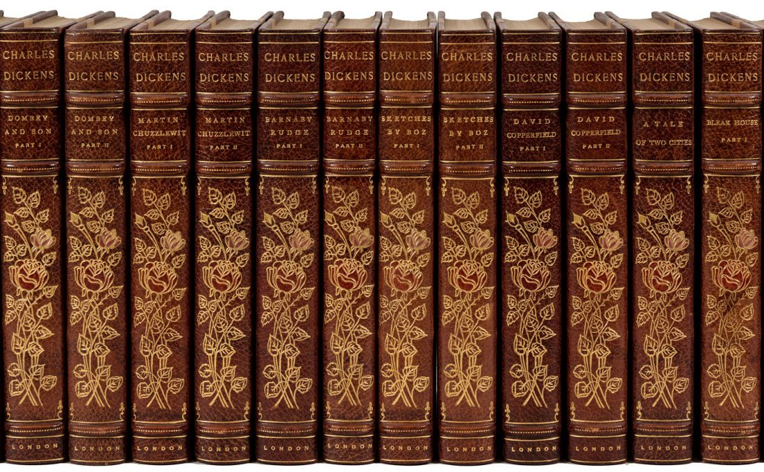 Works of Charles Dickens Broadstairs Edition finely - 2