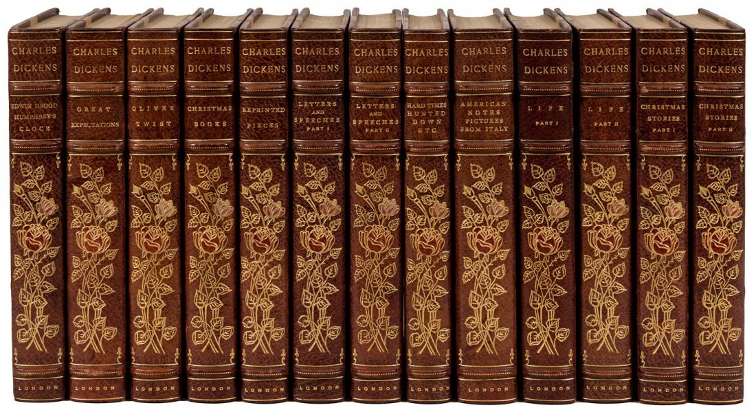 Works of Charles Dickens Broadstairs Edition finely - 3