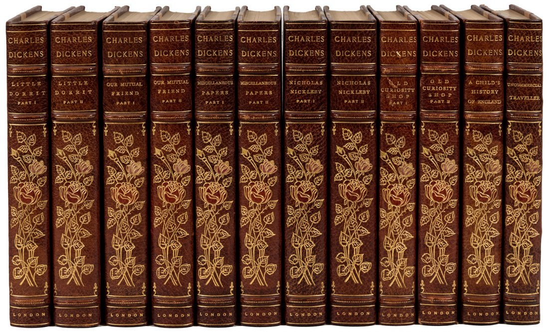 Works of Charles Dickens Broadstairs Edition finely - 4