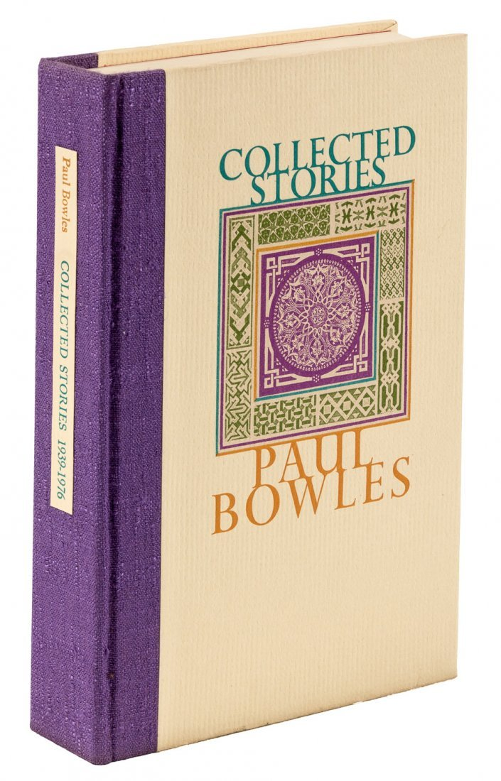 Paul Bowles Collected Stories 1/300 signed