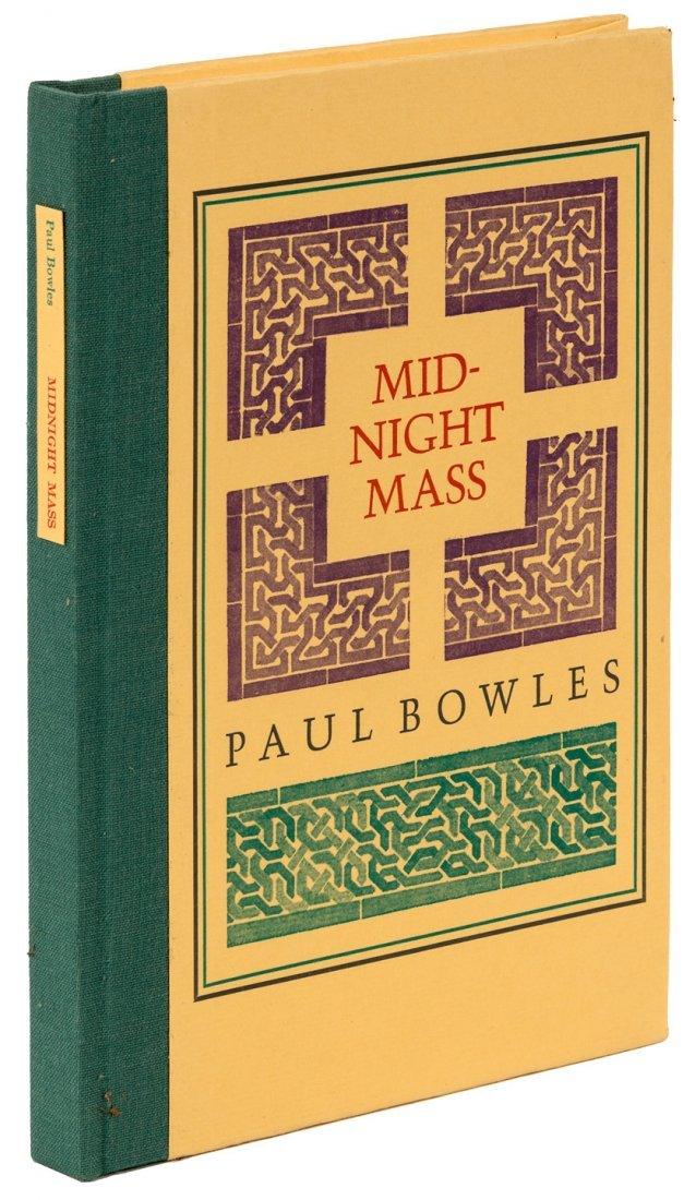 Paul Bowles Midnight Mass signed