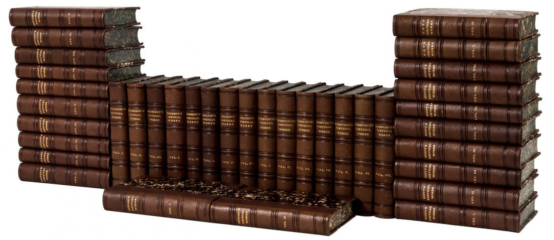 113 volumes of British Poet Series
