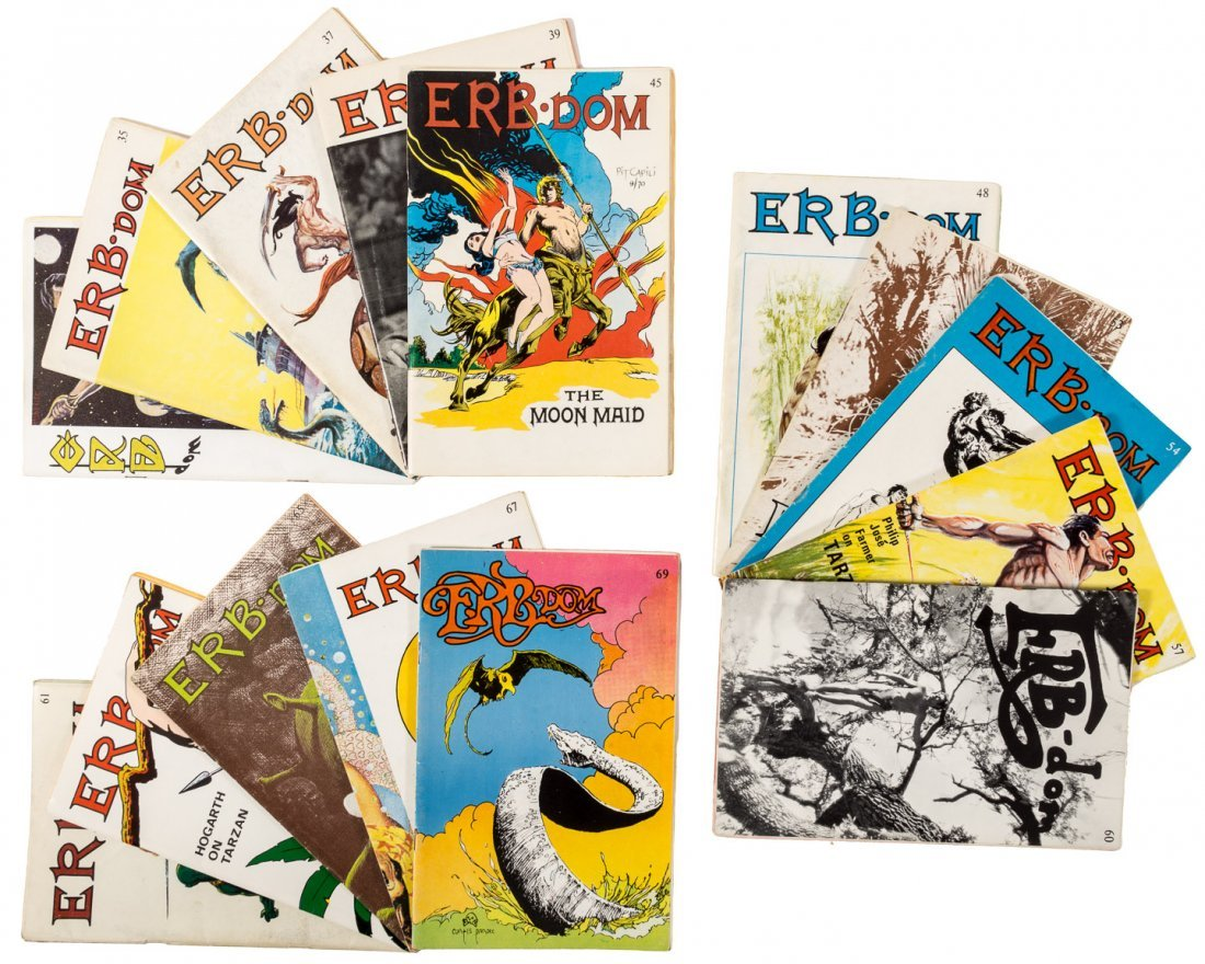 15 issues of Erbdom