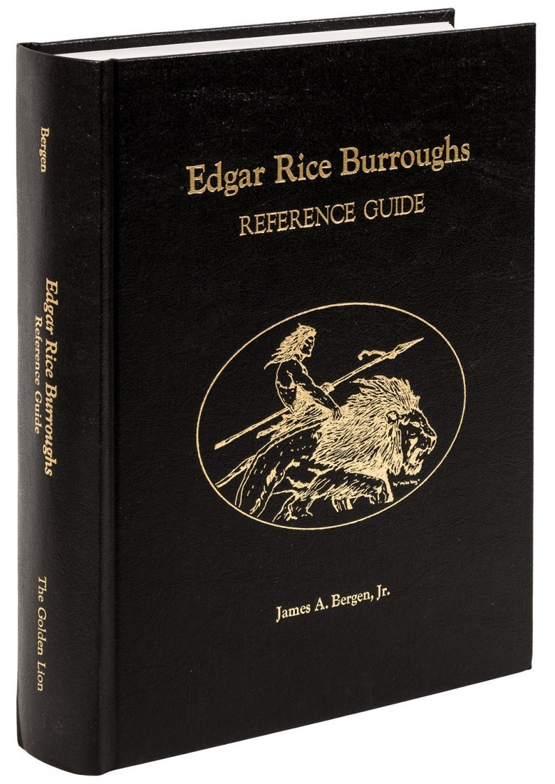 Edgar Rice Burroughs Reference by Bergen, signed.