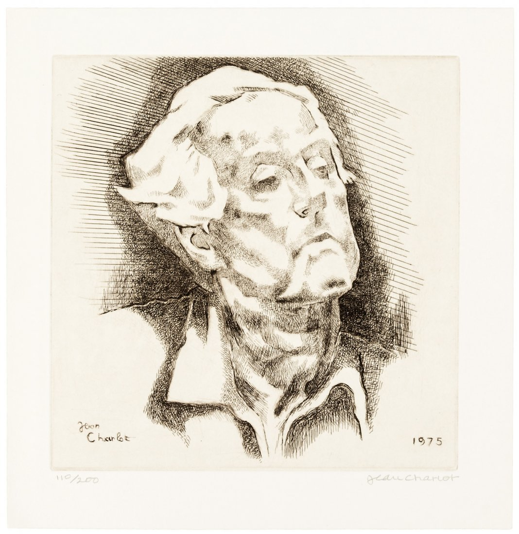 Fine copy of Jean Charlot's Prints 1/200 copies with