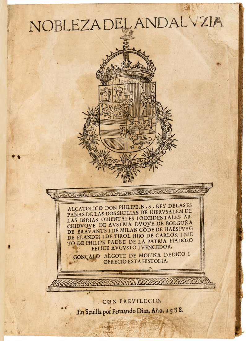 Genealogy of the Andalusian Aristocracy 1588