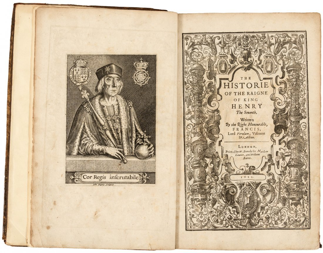 Bacon's History of Henry the Seventh 1622