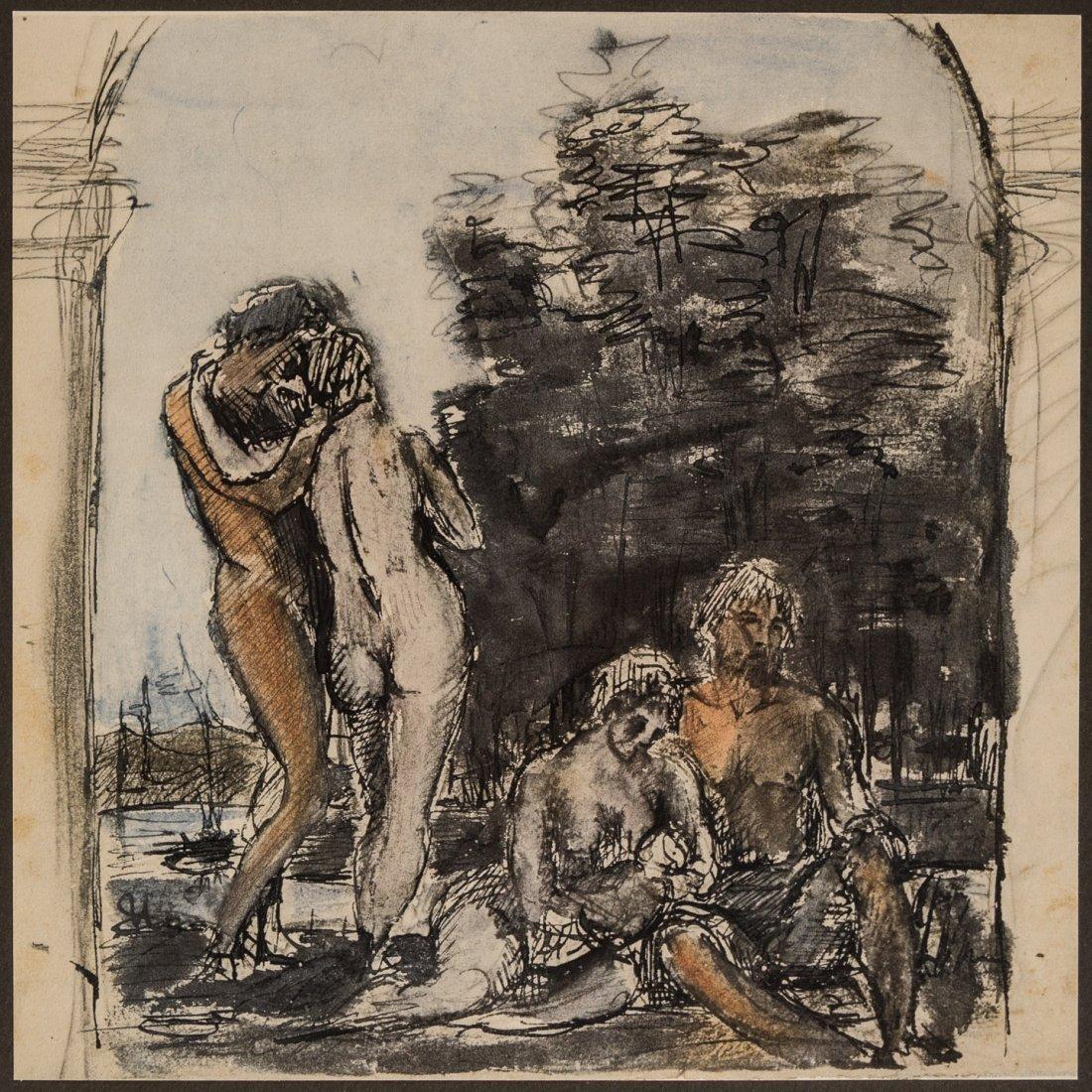 Sketches of Adolf Von Hildebrand