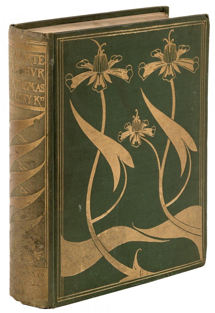 Le Morte d'Arthur with Aubrey Beardsley illustrations