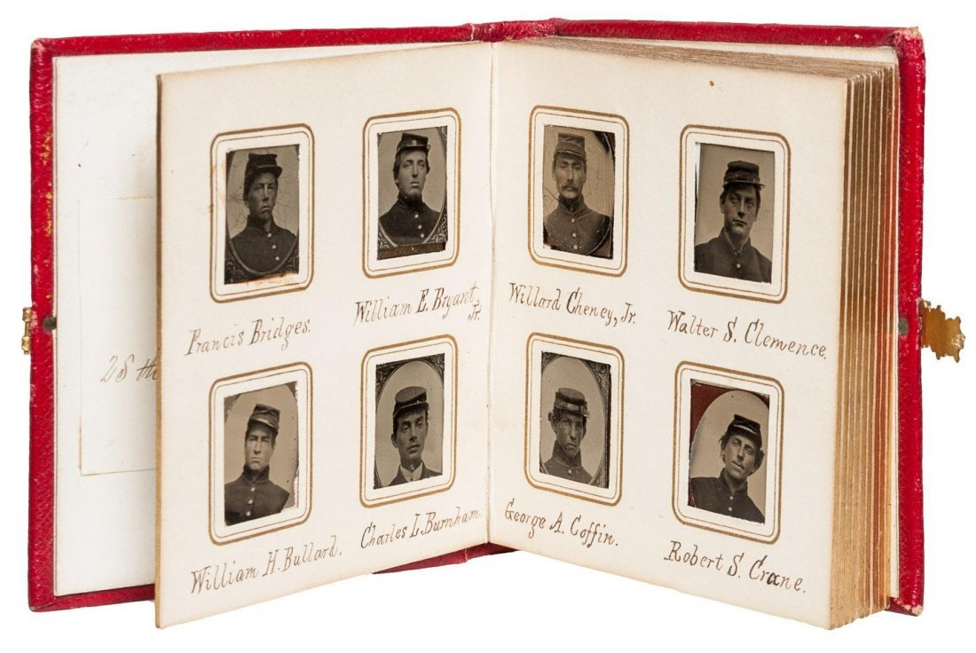 Remarkable Civil War Archive of Diaries and Photographs