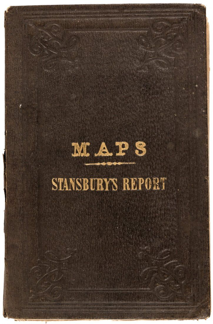 Maps from Stansbury's Report on Utah