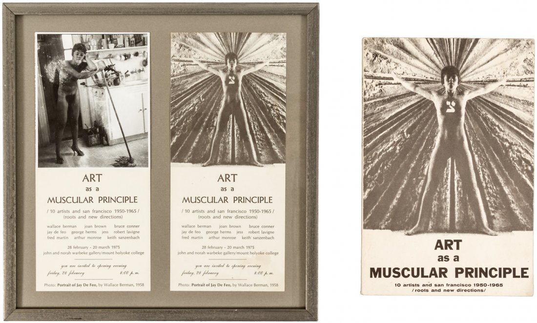 Art as a Muscular Principle, from coll of SF artist