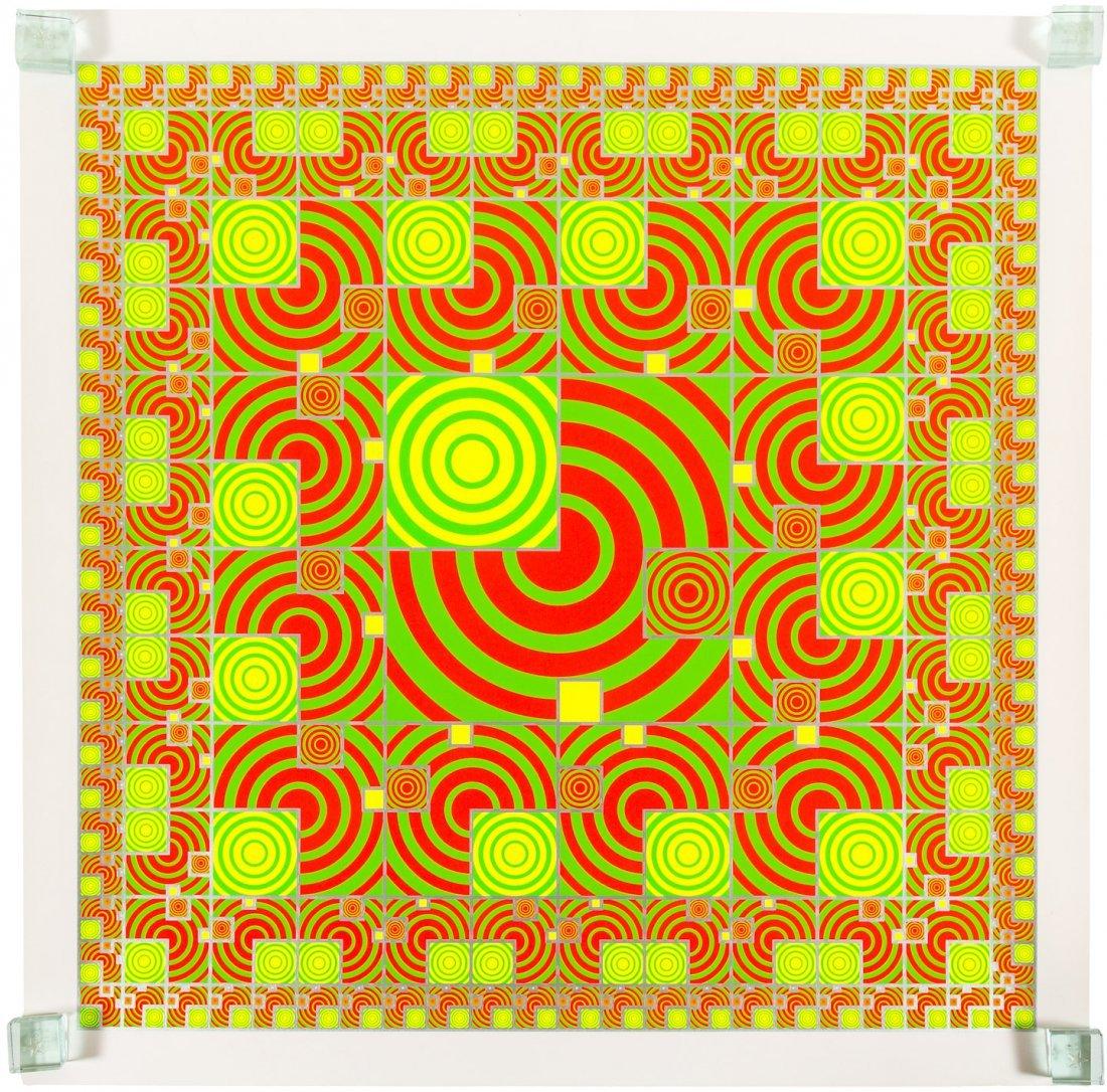 6 colorful silk-screened prints by Takaaki Matsumoto