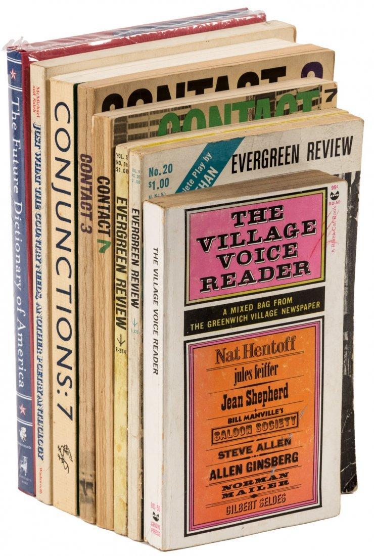 8 volumes of Beat works & periodicals