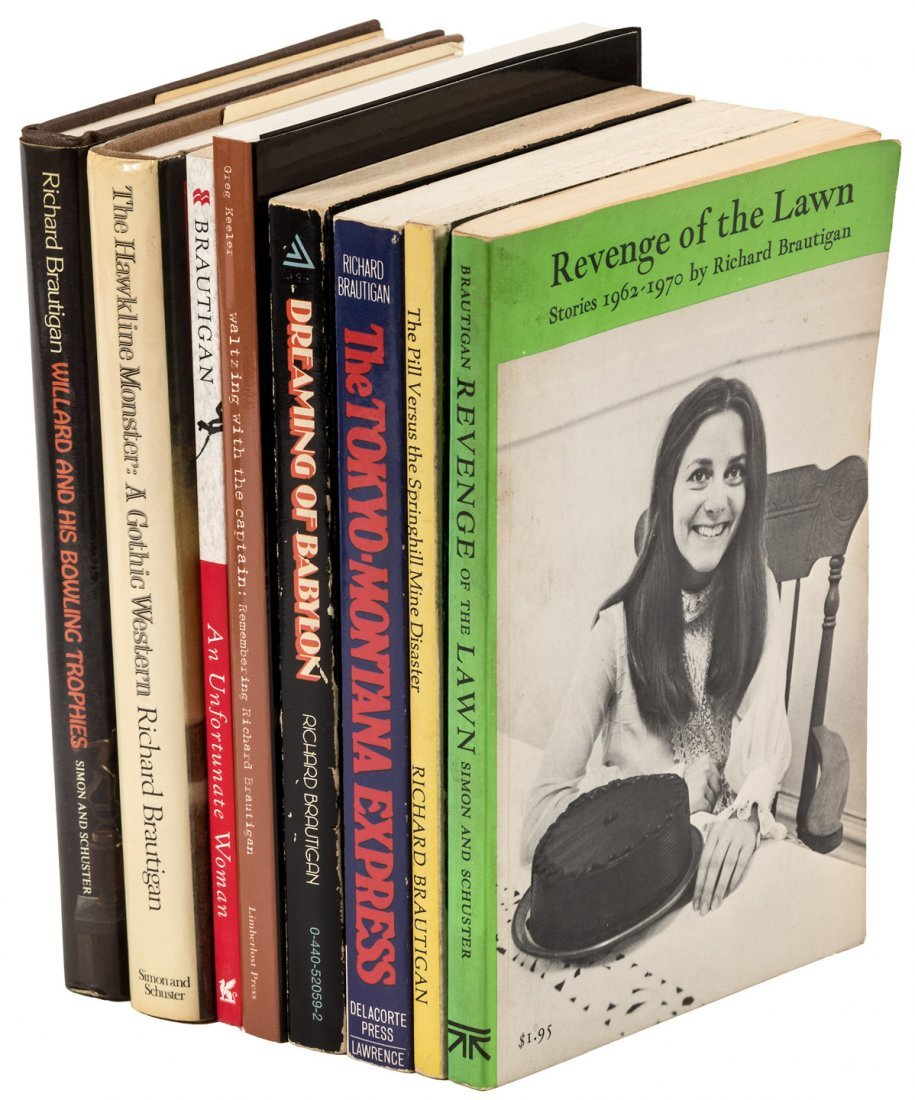 8 works by or about Richard Brautigan