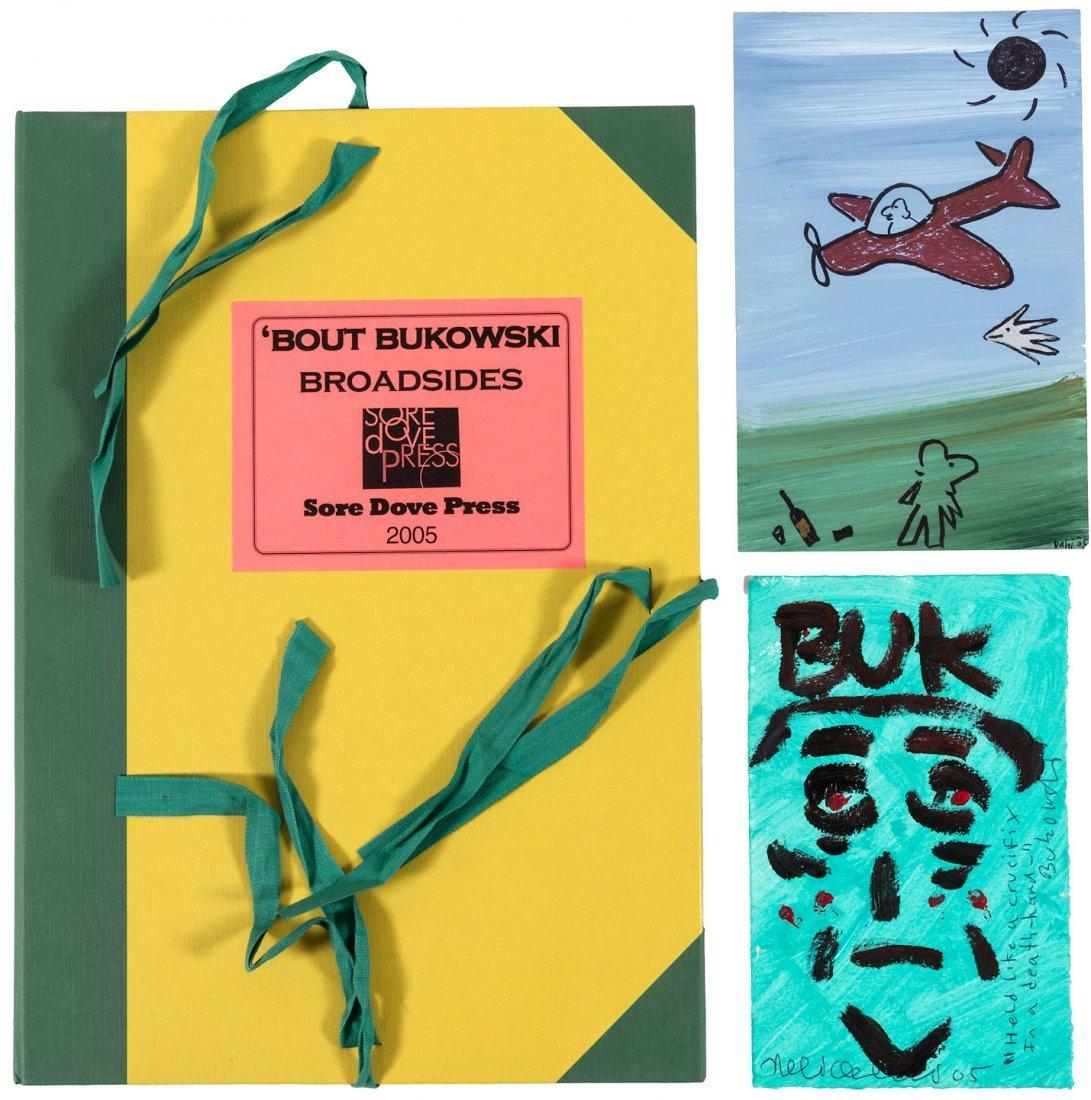'Bout Bukowski Broadsides, 2005 signed by poets 1/75