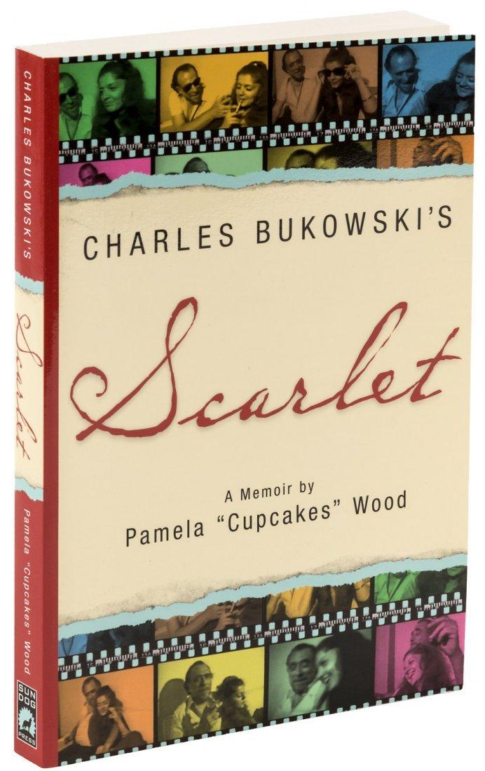 Bukowski's Scarlet, a Memoir, 2010 inscribed by Linda
