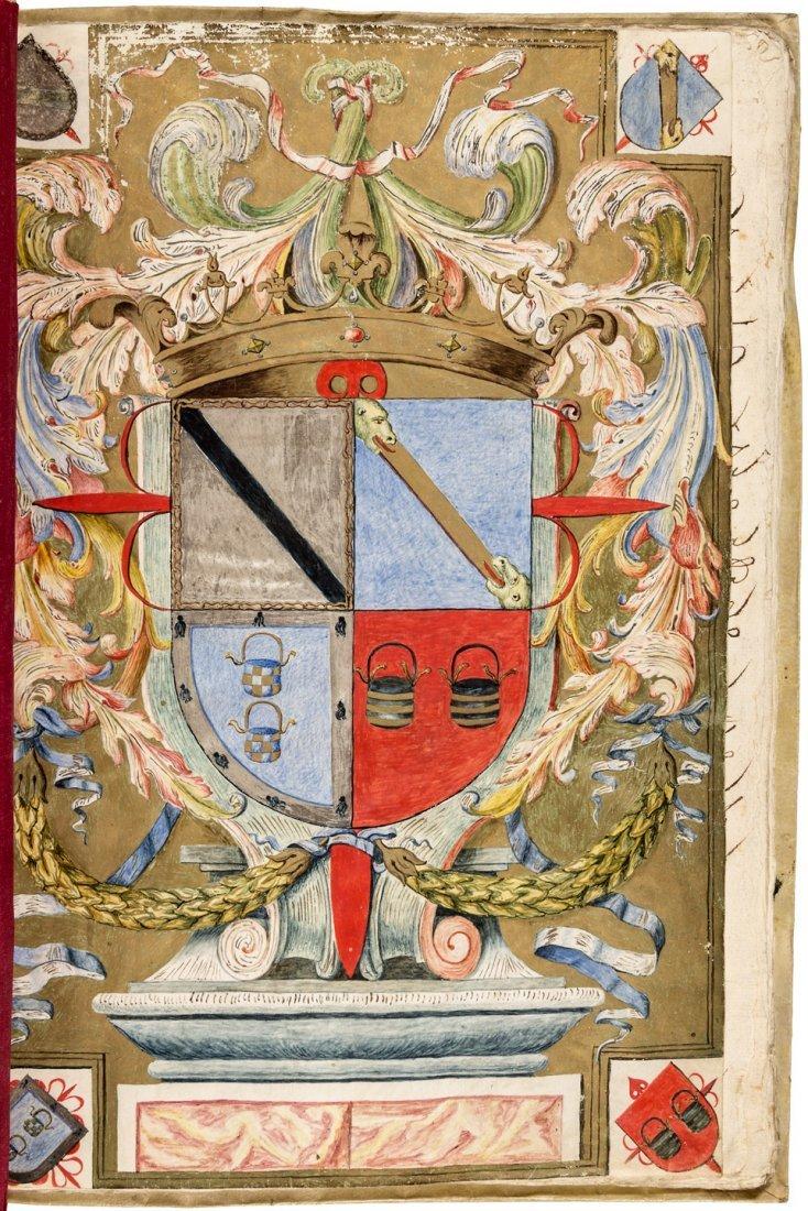 Chilean manuscript Coat of Arms