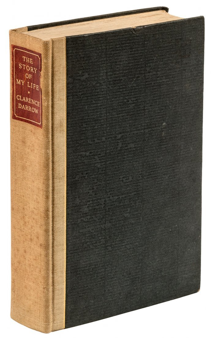 Clarence Darrow The Story of My Life Signed Limited