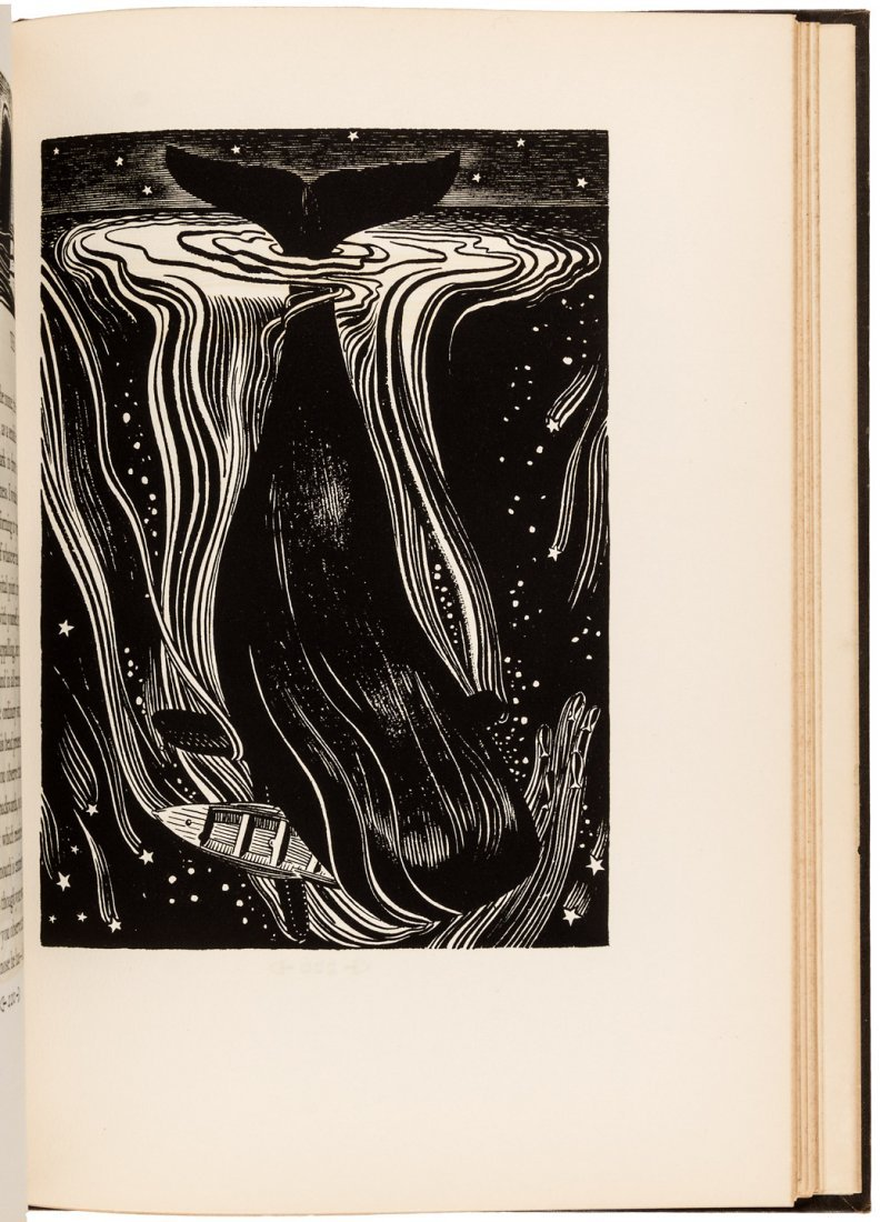 Lakeside Press Edition of Moby Dick with Rockwell Kent