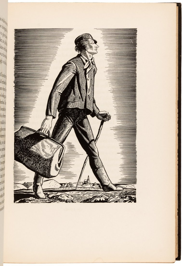 Lakeside Press Edition of Moby Dick with Rockwell Kent - 3