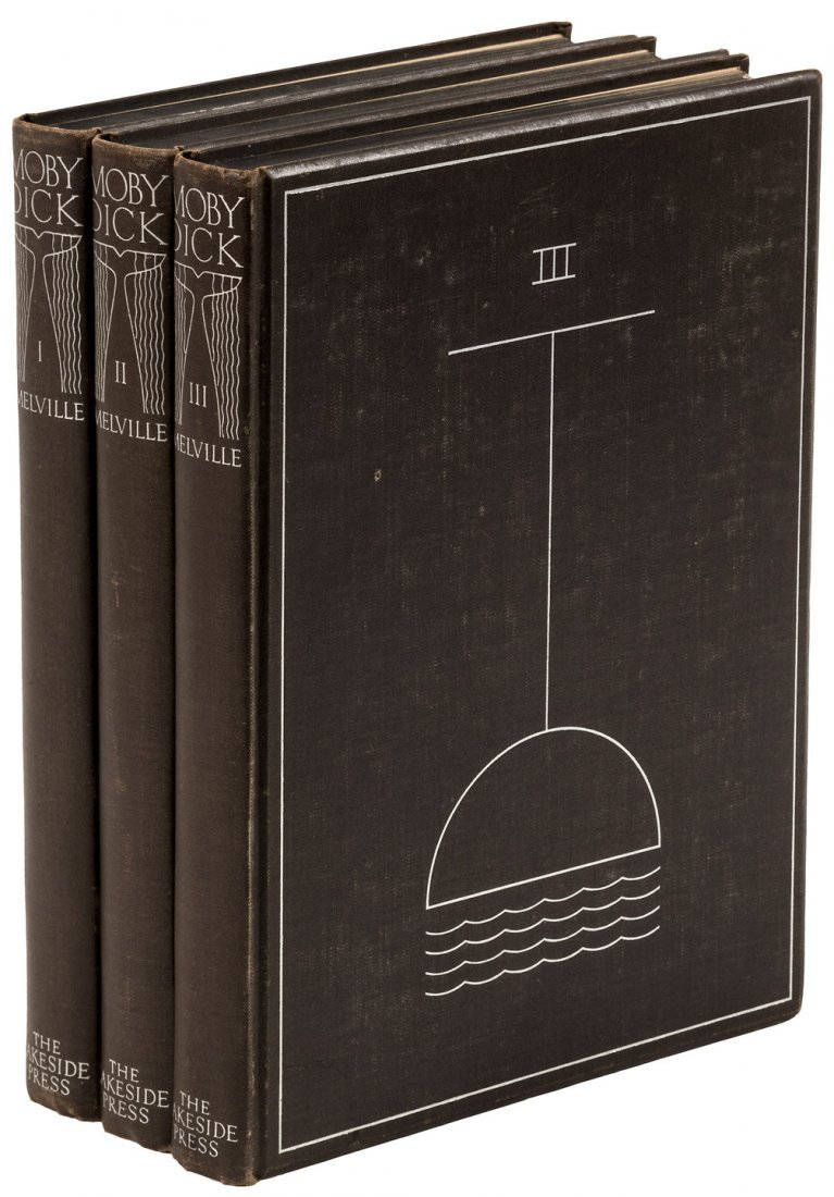 Lakeside Press Edition of Moby Dick with Rockwell Kent - 6