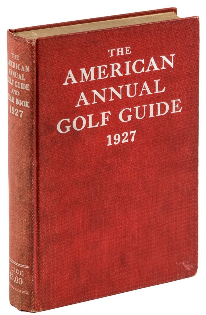 The American Annual Golf Guide 1927