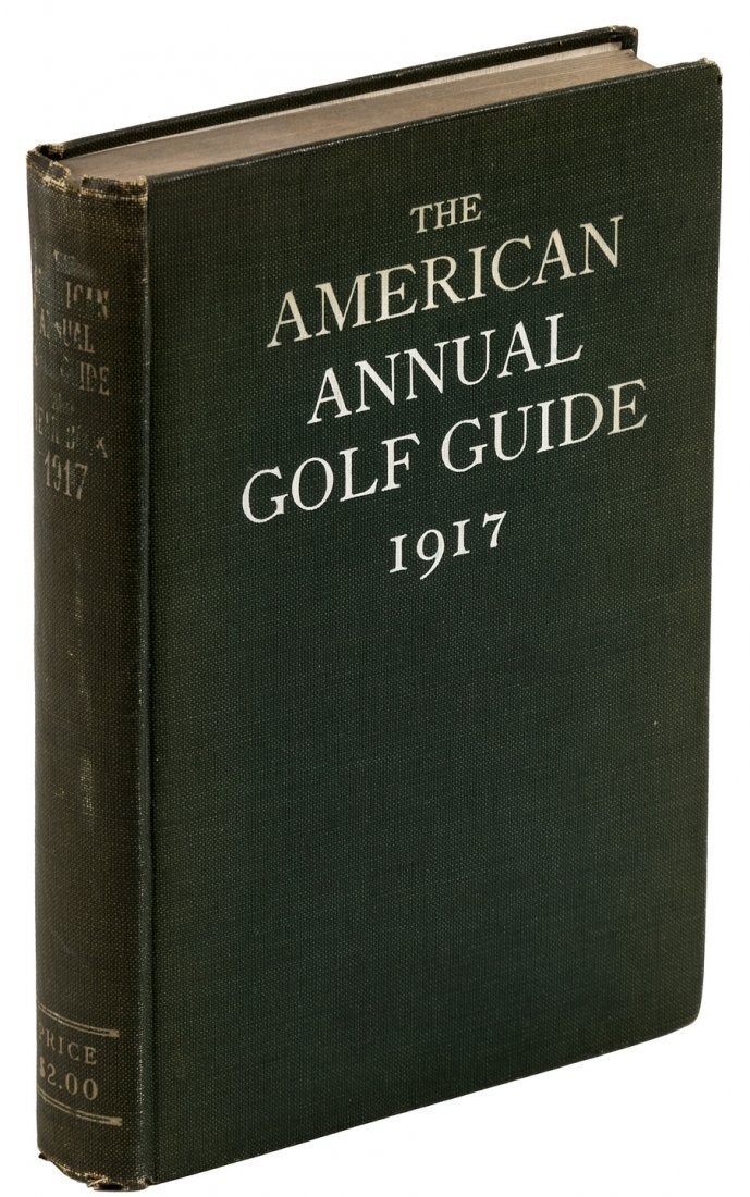 Second annual Golf Guide & Year Book 1917