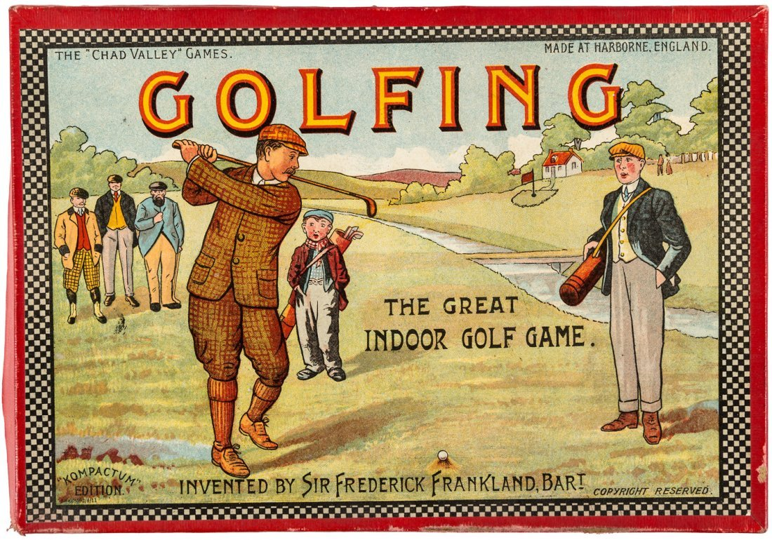 Golfing the Great Indoor Golf Game 1911 - 2
