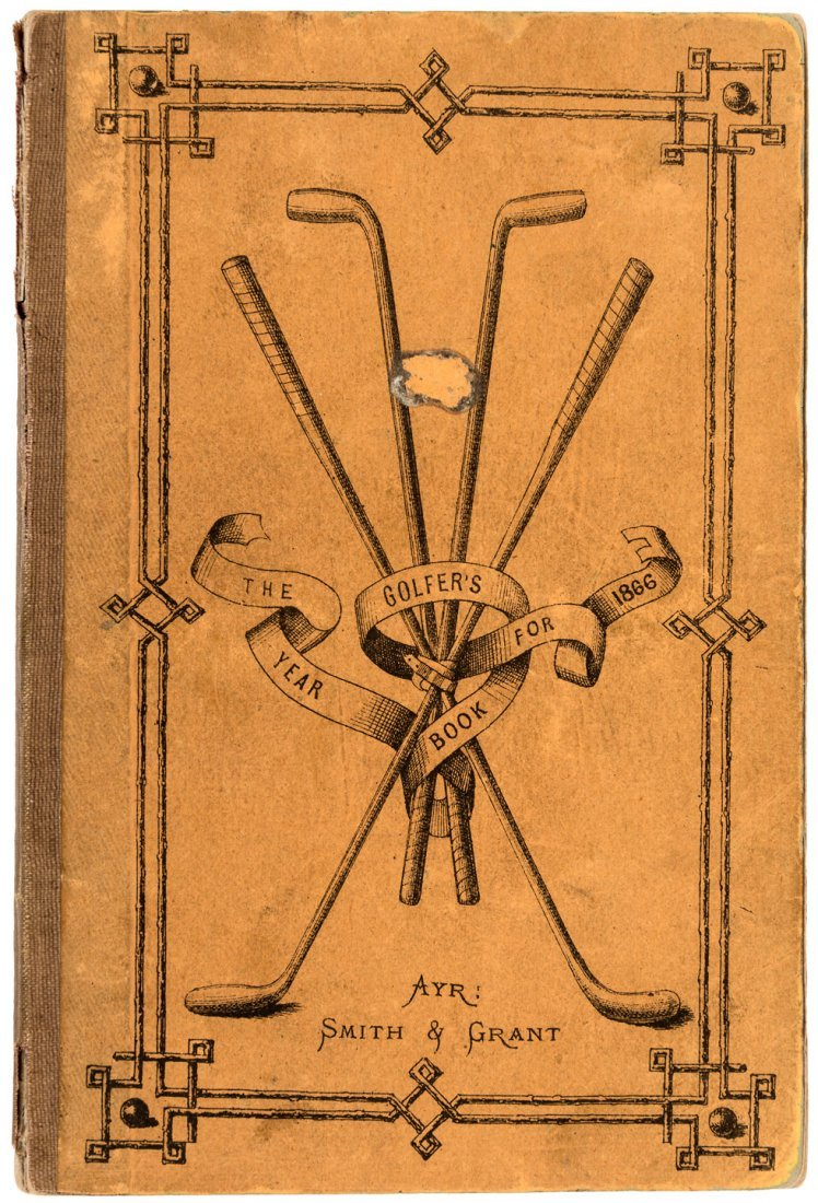 Golfer's Year Book for 1866 scarce