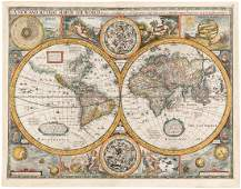Speed's map of the World 1626