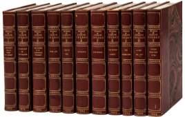 Works of Joseph Conrad finely bound by Bayntun