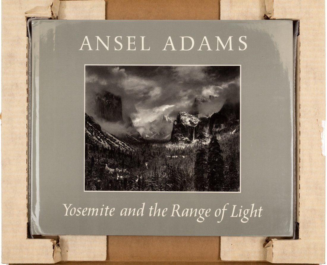 Ansel Adams Yosemite and the Range of Light signed