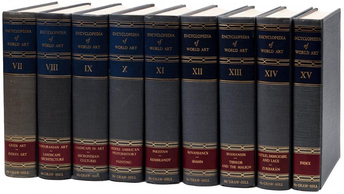 15 volumes Encyclopedia of World Art 1959-68 - 3