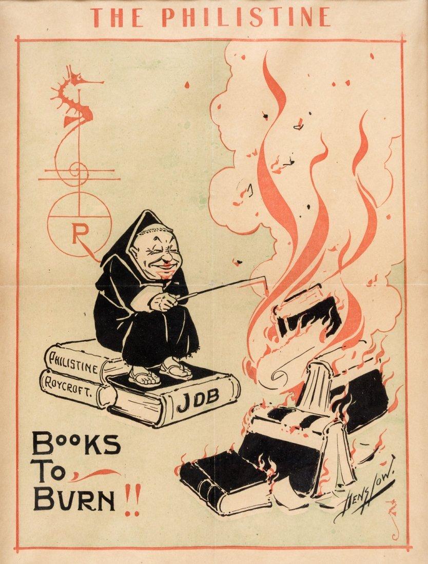 W.W. Denslow poster for Elbert Hubbard's The Philistine
