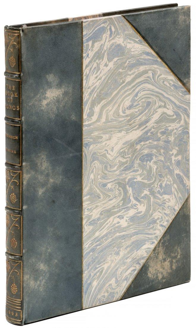 Heinrich Heine Book of Songs 1/100 on Japan vellum