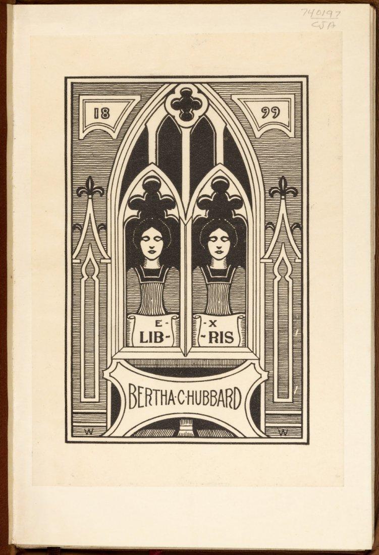 Tennyson's Maud 1/40 copies Bertha Hubbard's copy