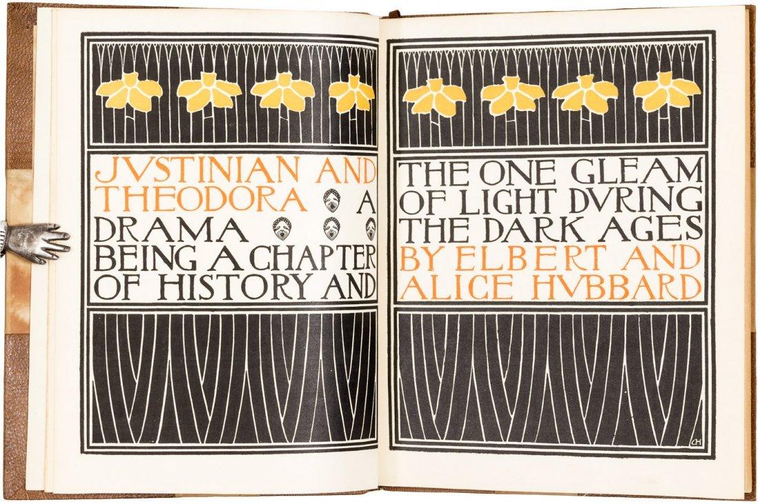 Justinian and Theodora Roycroft Japan vellum Edition