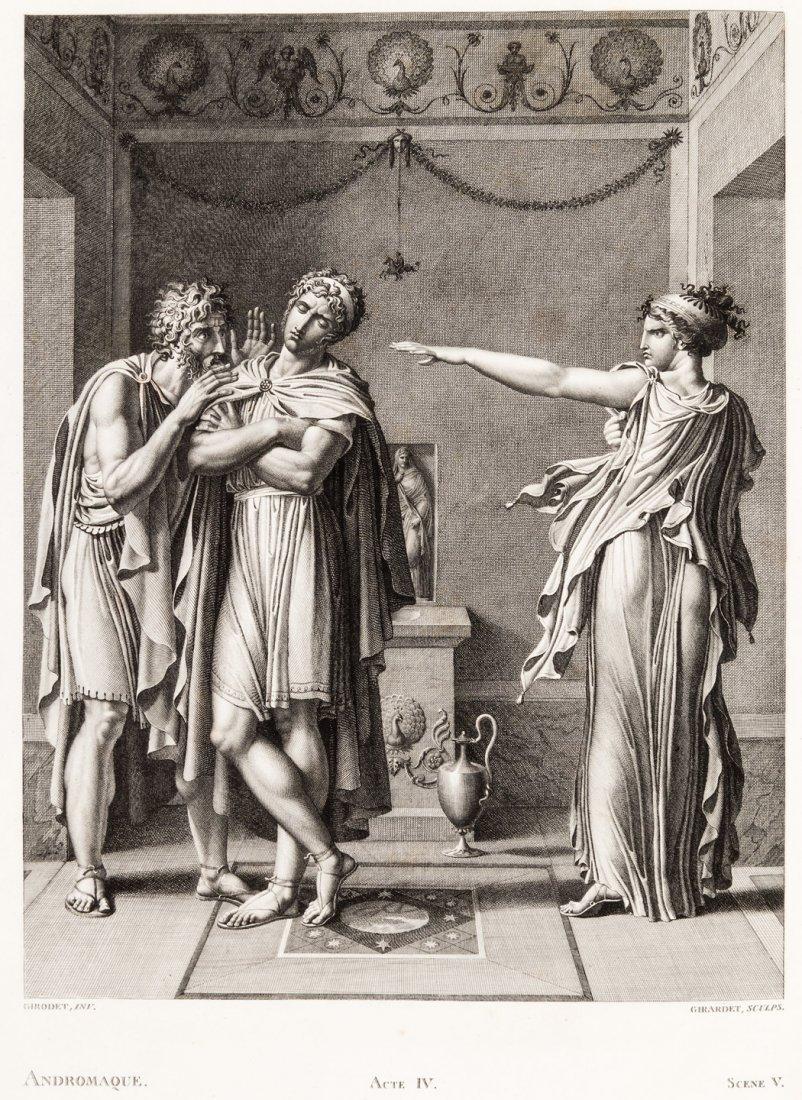 Oeuvres de Racine - Edition Magnifique 1801